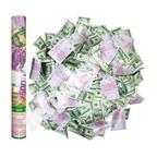 Пневмохлопушка в метал. тубе Денежный взрыв (доллары и евро) 40 см