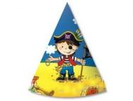 Колпак Маленький пират 6 шт/уп