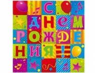 Скатерть п/э С ДР Мозаика 130 х 180 см/уп