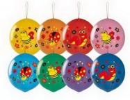 Панч-болл с рисунком Насекомые многоцвет