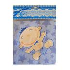 Салфетки С днем Рождения, Малыш голубые