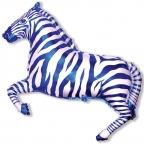 Зебра синяя