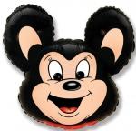 Мощный мышонок черный