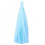 Помпон-кисточка Голубой 10 листов