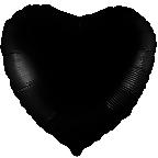 """Р Сердце 18""""/46см Черный"""