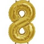 """Цифра """"8"""" Золото / Eight"""