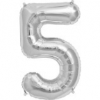 "Цифра ""5"" Серебро / Five"