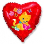 Шар Сердце / Влюбленный котенок