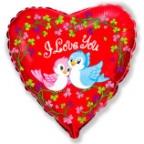 Сердце / Птички Я тебя люблю