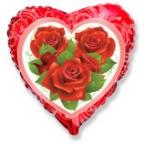 Сердце / Розы