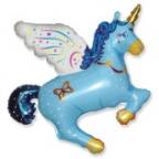 Единорог синий