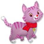 Милый котенок розовый