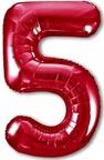 ЦИФРА 5 Slim красный