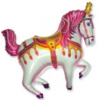 Нарядная лошадь фуксия