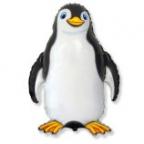 Счастливый пингвин черный