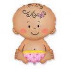 Малышка в памперсе