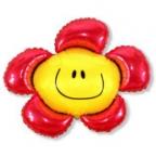Цветочек красный