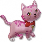 Милый котёнок розовый