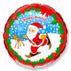 Круг / Дед мороз на лыжах / Skate Santa