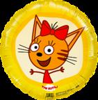 Круг /Три кота, Карамелька, Желтый