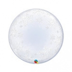 "П BUBBLE DECO 24"" Снежинки"