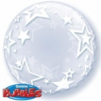 "П BUBBLE DECO 24"" Звезды"
