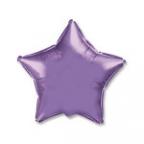 Шар Звезда Металлик Сиреневый / Lilac