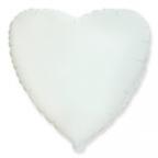 Сердце Пастель Белый / White