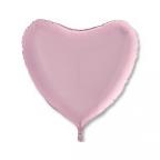 Сердце Пастель Розовый / Pink